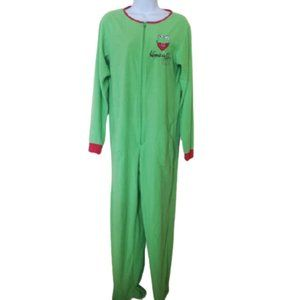 Kermitt The Frog Footed Pajama Onesie Size Small